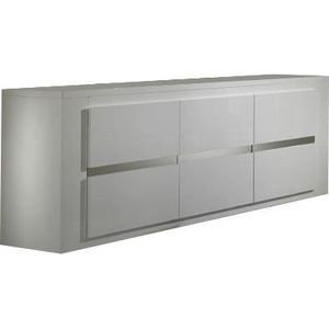 buffet laque blanc laque 3 portes achat vente buffet laque blanc laque 3 portes pas cher. Black Bedroom Furniture Sets. Home Design Ideas