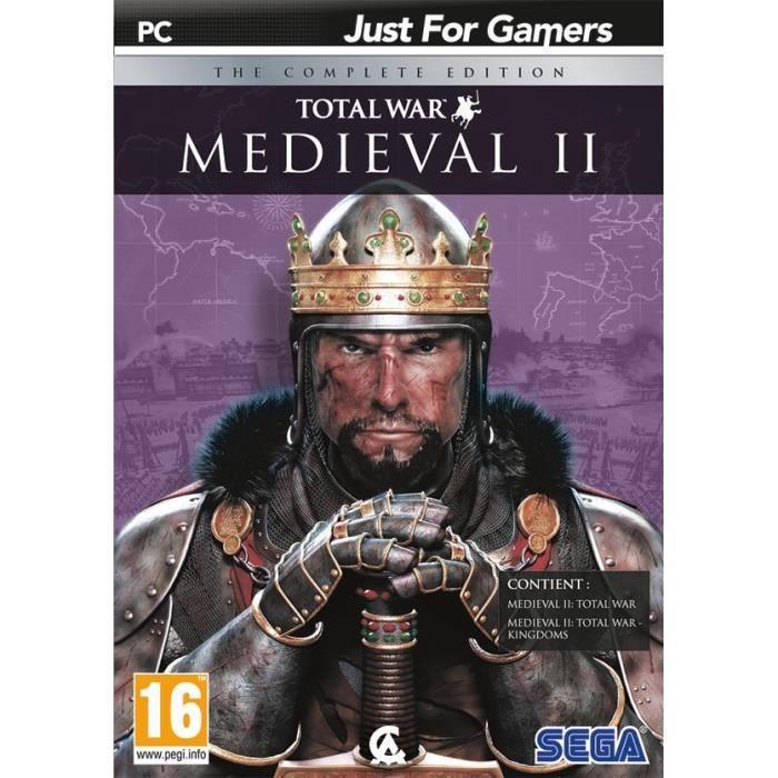 medieval ii total war the complete edition jeu pc achat vente jeu pc medieval ii total war. Black Bedroom Furniture Sets. Home Design Ideas