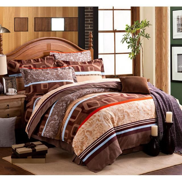 parure de lit 2 personnes housse de couette 2 taies 240 x 220 cm 069 achat vente parure de. Black Bedroom Furniture Sets. Home Design Ideas