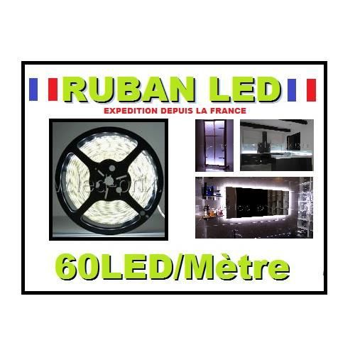 ruban led blanc froid 300 leds 5 m tres ip20 achat vente ruban led blanc froid 300 l cdiscount. Black Bedroom Furniture Sets. Home Design Ideas