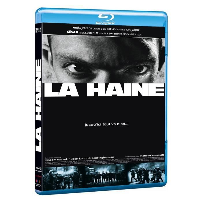 blu ray la haine en blu ray film pas cher kassovitz mathieu cdiscount. Black Bedroom Furniture Sets. Home Design Ideas