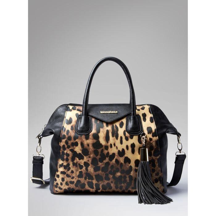 sac main leopard. Black Bedroom Furniture Sets. Home Design Ideas