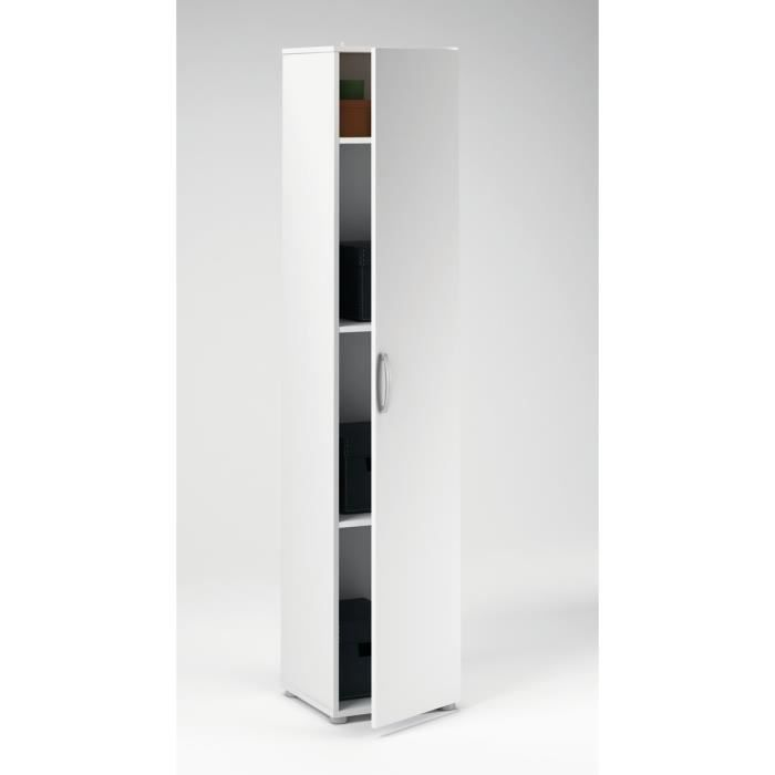 cobi armoire multifonction 35cm blanc achat vente armoire de toilette cobi armoire. Black Bedroom Furniture Sets. Home Design Ideas