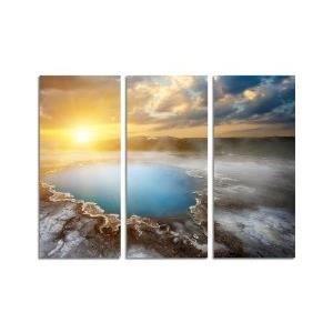 Tableau deco moderne image sur toile mod le 130x90 achat vente tableau - Tableau moderne discount ...