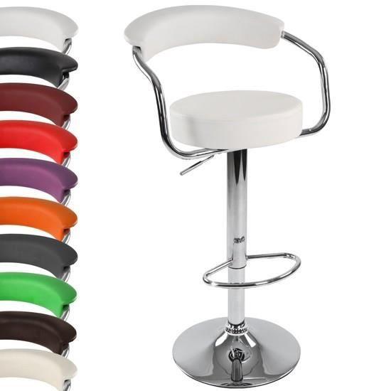 tabouret de bar avec accoudoirs lbhk09 1er vert achat. Black Bedroom Furniture Sets. Home Design Ideas