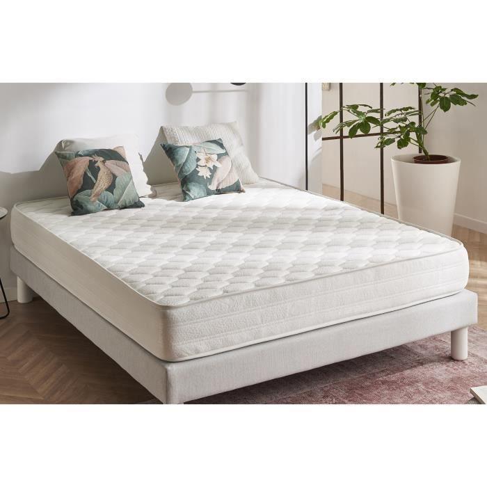 matelas ergo 140x200 mousse m moire blue achat. Black Bedroom Furniture Sets. Home Design Ideas