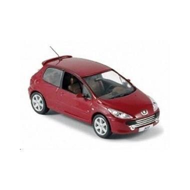 miniature peugeot 307 3 portes rouge 2005 achat vente voiture camion cdiscount. Black Bedroom Furniture Sets. Home Design Ideas