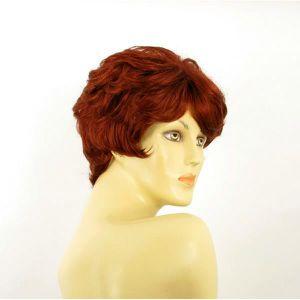 Perruque femme courte rousse CLEMENTINE 350