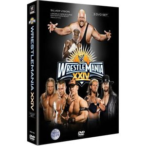 DVD DOCUMENTAIRE DVD Wrestlemania 24