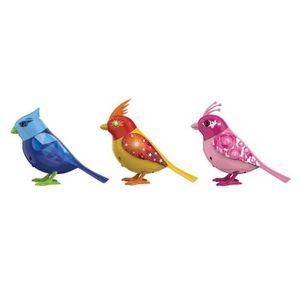 ROBOT - ANIMAL ANIMÉ DIGIBIRDS - Lot x3 DigiBirds Oiseau + Bague Assort