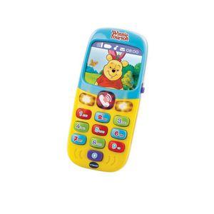 TELEPHONE JOUET VTECH Winnie - Baby smartphone des découvertes