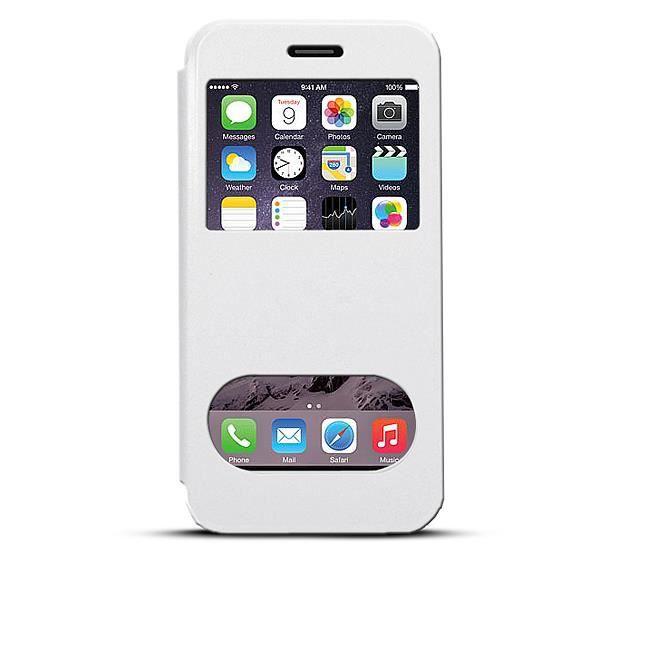 etui inclinable 2 fen tres d 39 appel pour iphone 6 achat housse tui pas cher avis et. Black Bedroom Furniture Sets. Home Design Ideas