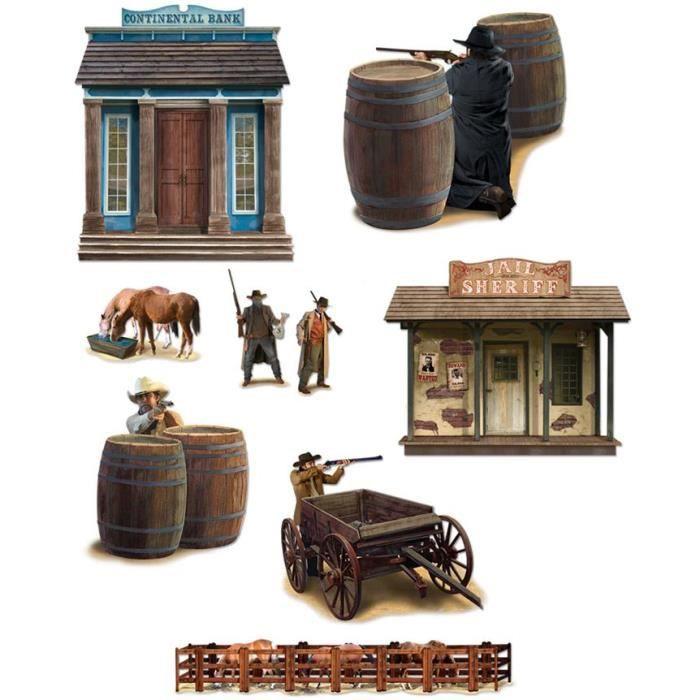 D coration western achat vente d co de f te murale for Decoration murale western