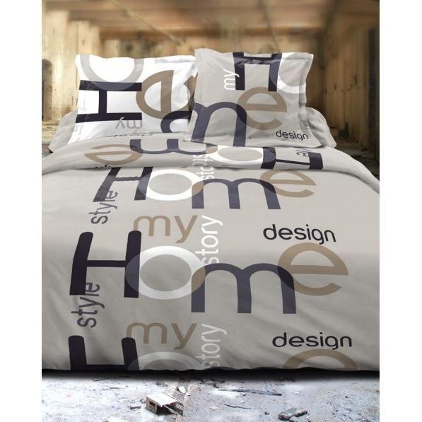 parure de drap 5 pi ces 39 home design 39 240x300 c achat. Black Bedroom Furniture Sets. Home Design Ideas