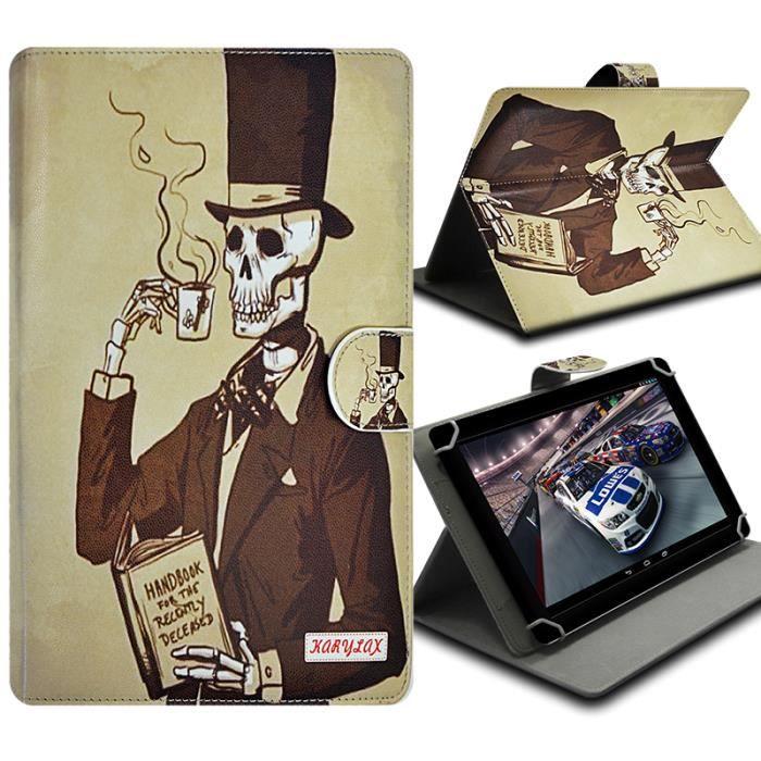 informatique accessoires tablettes tactiles etui folio pour tablette archos  cobalt f kar