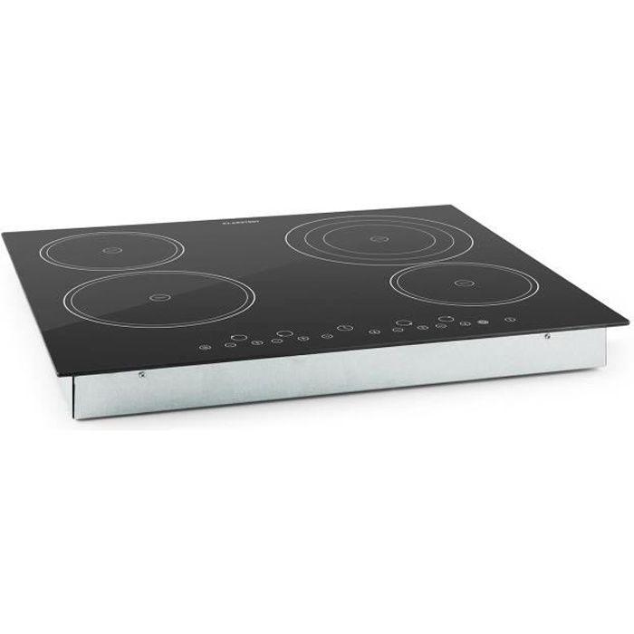 klarstein klarstein virtuosa plaque de cuisson encastrable electrom nager. Black Bedroom Furniture Sets. Home Design Ideas