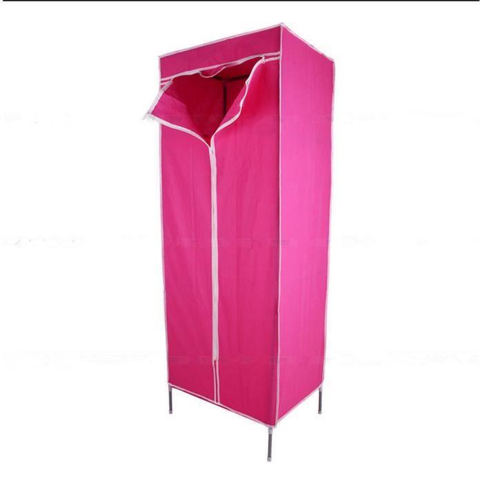 meuble de rangement armoire penderie en tissu stockage 6 couleurs aux choix achat vente. Black Bedroom Furniture Sets. Home Design Ideas