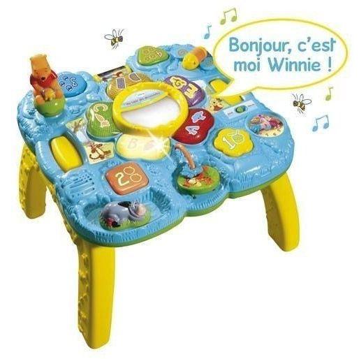 Winnie ma table des d couvertes achat vente table for Table d activite bebe