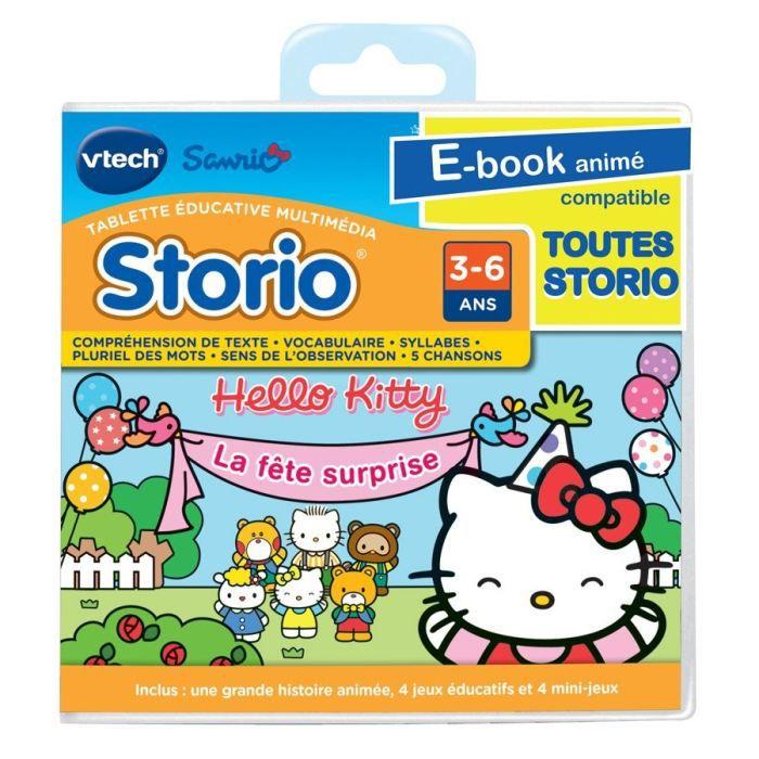 Jeu educatif storio hello kitty achat vente jeu console educative jeu storio hello kitty - Histoire des consoles de jeux ...