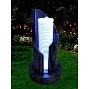 Fontaine d 39 eau colona 65cm achat vente fontaine de for Fontaine exterieur zen