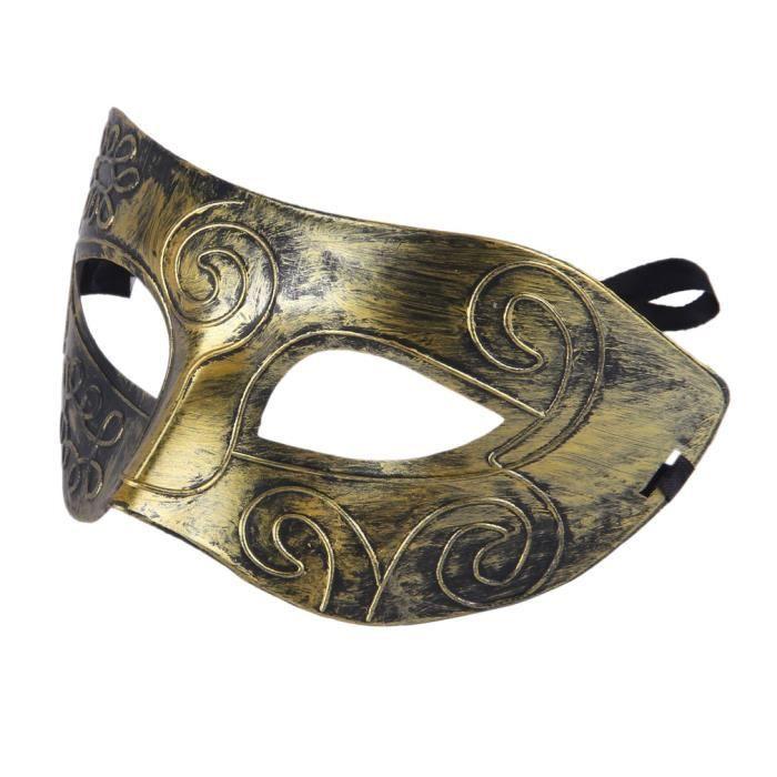Pvc masque v nitien antique d guisement de carnaval homme - Masque venitien decoration ...