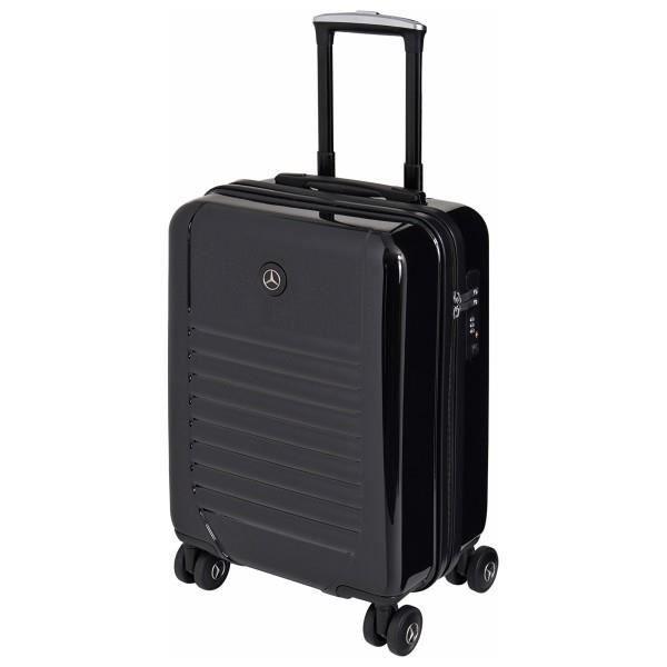 valise mercedes benz style hard 3 case 55 cm noir achat vente valise bagage 3660895634406. Black Bedroom Furniture Sets. Home Design Ideas