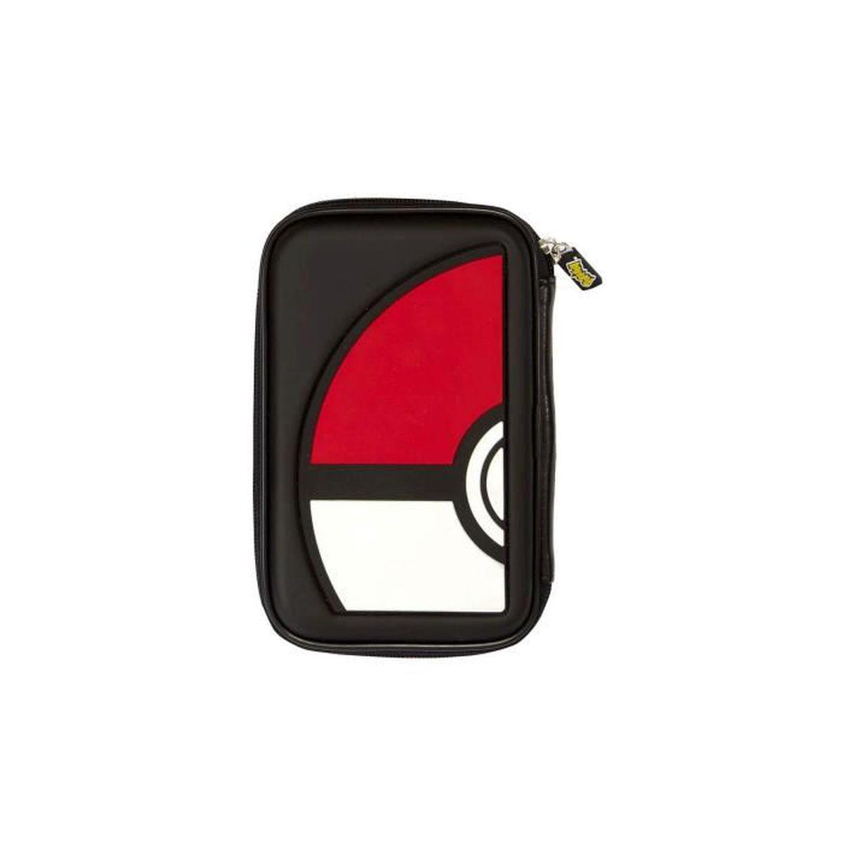 Pochette de rangement nintendo pok mon pok ball pour 3ds for Housse 3ds pokemon