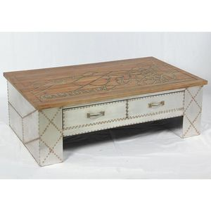 Table basse industriel achat vente table basse - Table basse d appoint ...