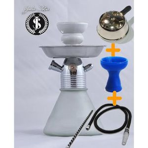 CHICHA - NARGUILÉ Pack TURBO + Kaloud + Tuyau +foyer silicone JS