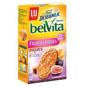 BISCUITS BREAKFAST Belvita biscuits petit déjeuner fruits & fibres au
