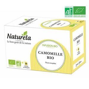 THÉ Naturela Infusion Camomille Infusettes 20 x1,2g Bi