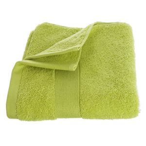 drap de bain vert anis achat vente drap de bain vert anis pas cher soldes cdiscount. Black Bedroom Furniture Sets. Home Design Ideas