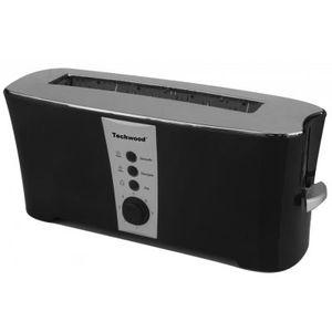 grille pain design couleur noir achat vente grille pain toaster cdiscount. Black Bedroom Furniture Sets. Home Design Ideas