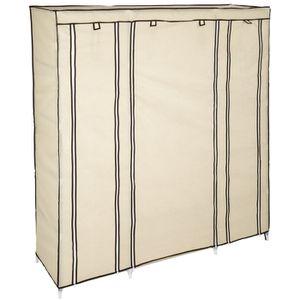 armoire penderie tissu achat vente armoire penderie tissu pas cher les soldes sur. Black Bedroom Furniture Sets. Home Design Ideas
