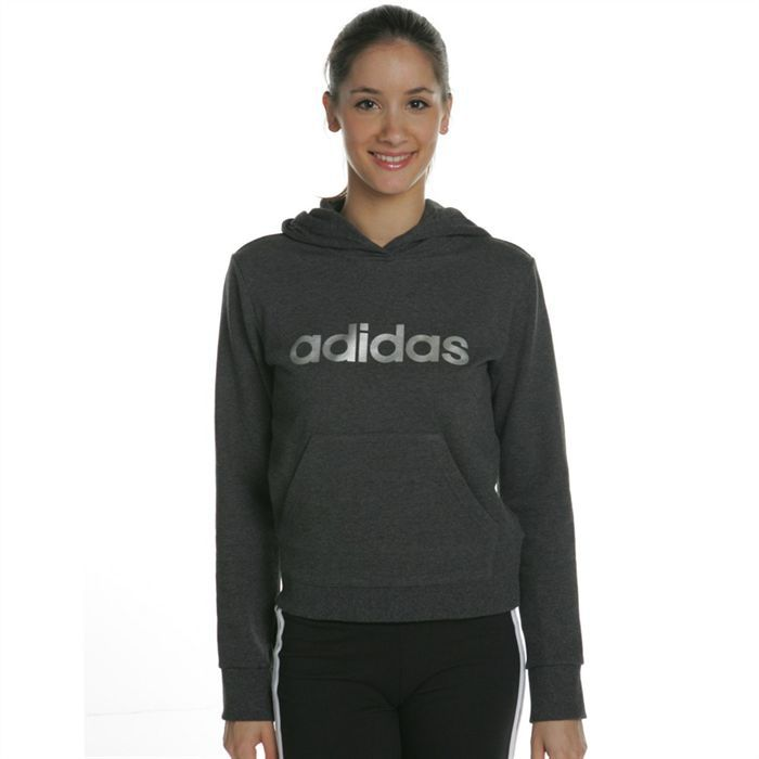 coloris noir sweat adidas femme capuche manches longues pictures to pin on pinterest. Black Bedroom Furniture Sets. Home Design Ideas