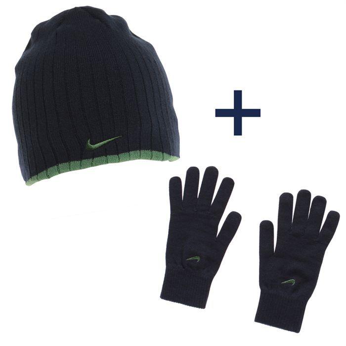 nike ensemble bonnet et gants homme achat vente bonnet cagoule nike bonnet gants homme. Black Bedroom Furniture Sets. Home Design Ideas