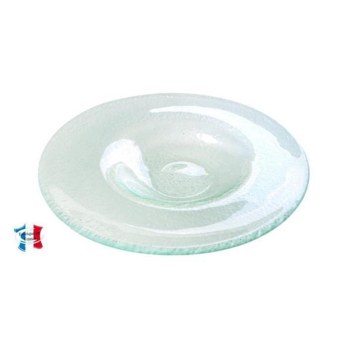 assiette en verre risotto soupe 25 5 cm achat vente assiette cdiscount. Black Bedroom Furniture Sets. Home Design Ideas