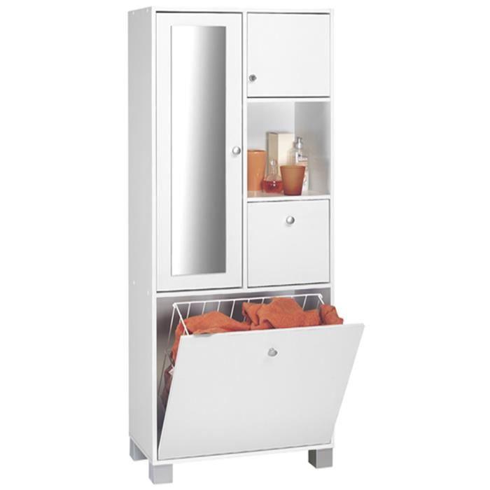 colonne salle de bain sur pieds avec 2 porte 1 achat vente colonne armoire sdb colonne. Black Bedroom Furniture Sets. Home Design Ideas