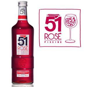Apéritif anisé Pastis 51 rosé (70cl)