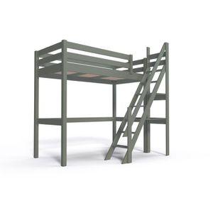 Lit mezzanine avec escalier achat vente lit mezzanine - Lit mezzanine 2 places avec escalier ...