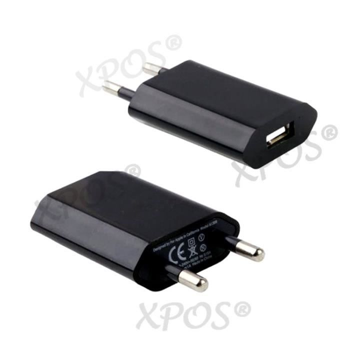Sony xperia z1 compact chargeur secteur prise mural usb for Chargeur mural usb