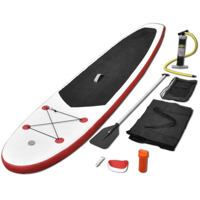 planche stand up paddle gonflable blanc achat vente planche stand up paddle cdiscount