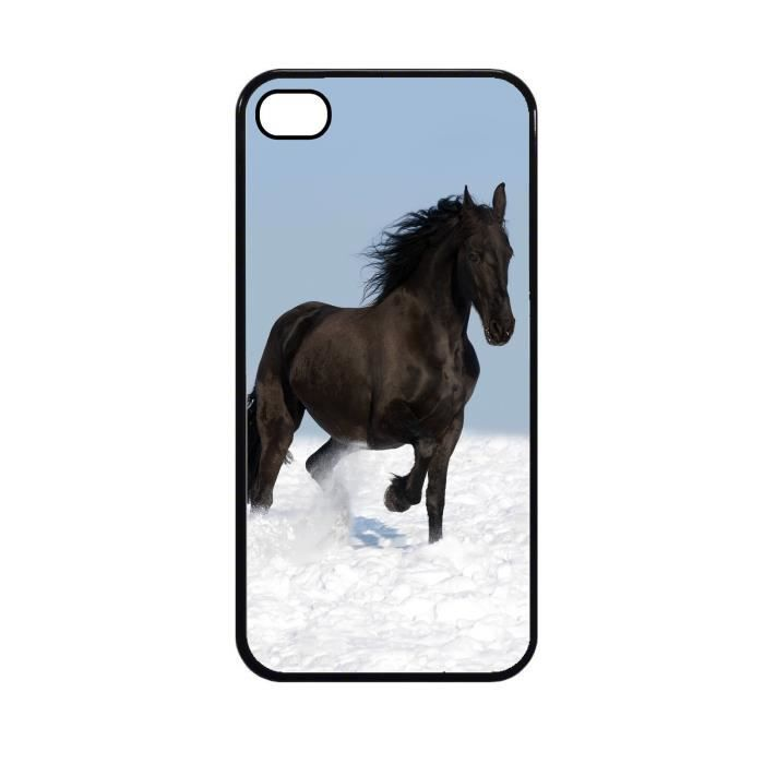 Coque protection iPhone 5C Cheval ref 427