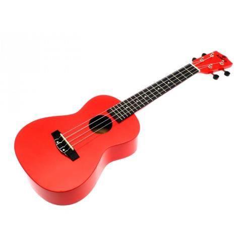 Ukulele koki 39 o linden concert rouge housse achat for Housse ukulele concert