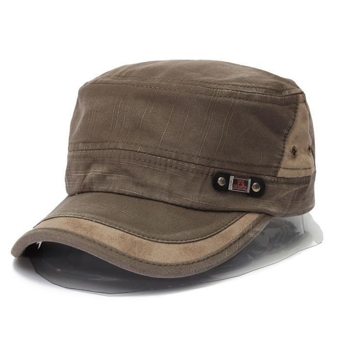 chapeau casquette militaire baseball homme femm vert achat vente casquette soldes d. Black Bedroom Furniture Sets. Home Design Ideas