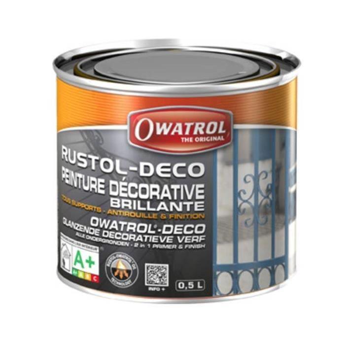 Antirouille decorative rustol d co owatrol 0 5 litre for Antirouille maison