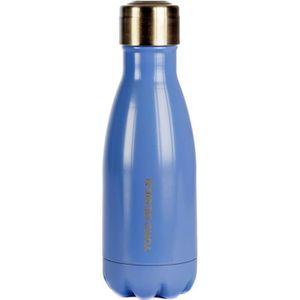 YOKO DESIGN Bouteille isotherme double paroi 260 ml bleu mat
