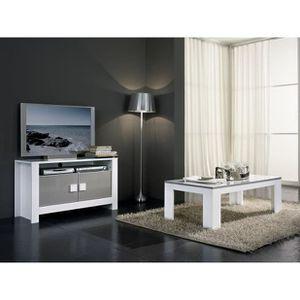 salle a manger bois gris achat vente salle a manger bois gris pas cher cdiscount. Black Bedroom Furniture Sets. Home Design Ideas
