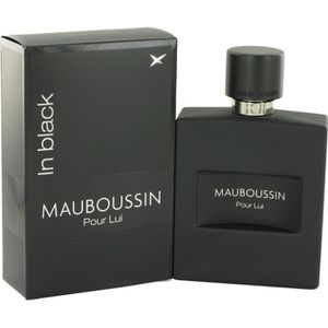 EAU DE PARFUM Parfum pour Homme Mauboussin Pour lui In Black 100