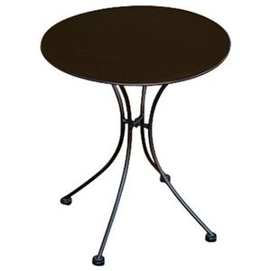 table ronde fer forge achat vente table ronde fer forge pas cher cdiscount. Black Bedroom Furniture Sets. Home Design Ideas